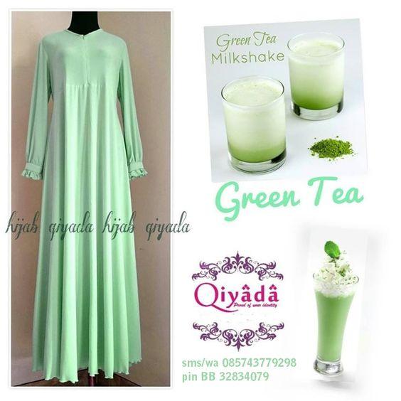 Gamis OSD Green Tea